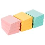 12 blocs de notes repositionnables   Office DEPOT   38 x 50 mm   coloris pastel