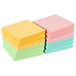 12 blocs de notes repositionnables   Office DEPOT   76 x 76 mm   coloris pastel