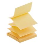 Notes adhésives en Z Office Depot 76 x 76 mm Jaune   6 Unités de 100 Feuilles