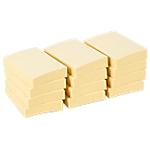Notes adhésives Office Depot 50 x 38 mm Jaune pastel   12 Unités de 100 Feuilles