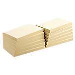 Notes adhésives Office Depot 127 x 76 mm Sticky green Jaune   12 Unités de 100 Feuilles