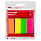 Marque pages Office Depot Neon 2 x 10,6 x 5 cm Assortiment   200 Bandes