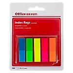 Marque pages Office Depot Classique 45 (H) x 12 (l) mm Assortiment   125 Bandes