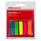 Marque pages Office Depot Classique 1,2 x 10,5 x 4,5 cm Assortiment   125 Bandes