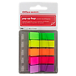 Marque pages Office Depot Pop Up 1,2 x 7 x 4,5 cm Assortiment   5 Unités de 40 Bandes