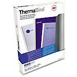 Couvertures pour reliure thermique standard GBC Transparent 25 Unités