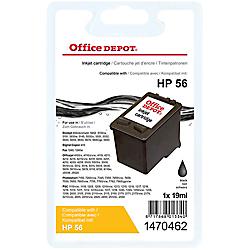 cartouche jet d encre office depot compatible hp 56 noir c6656a par office depot. Black Bedroom Furniture Sets. Home Design Ideas