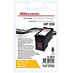 Cartouche jet d'encre Office Depot Compatible HP 339 Noir C8767EE