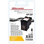 Cartouche jet d'encre Office Depot Compatible HP 337 Noir C9364EE