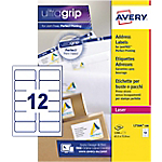 Étiquettes d'adresses Avery L7164 100 A4 Blanc 63,5 x 72 mm 100 Feuilles de 12 Étiquettes