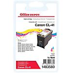 Cartouche jet d'encre Office Depot Compatible Canon CL 41 Cyan, Magenta, Jaune