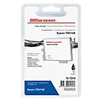 Cartouche jet d'encre Office Depot Compatible Epson T0611 Noir 1502923