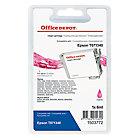 Cartouche jet d'encre Office Depot Compatible Epson T0713 Magenta T071340