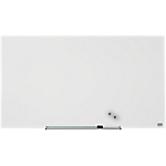 Tableau blanc Nobo Widescreen Verre Blanc brillant 100 x 56 cm
