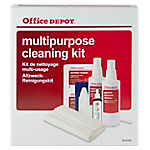 Kit de nettoyage multi usages Office Depot Rouge, blanc