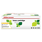 Toner Office Depot Compatible HP 124A Jaune Q6002A