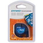 Ruban d'étiquettes DYMO Letratag 12mm (L) x 4m (l) Noir, bleu