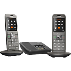 telephone fixe gigaset cl660a duo sans fil avec repondeur. Black Bedroom Furniture Sets. Home Design Ideas