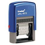 Tampon à formule commerciale Printy 4822 A Trodat 1 Ligne 4 (H) x 24 (l) mm 4 mm 24 mm Bleu