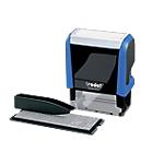 Tampon à personnaliser Trodat Printy Typomatic 4912T Texte 4 Lignes 18 mm 47 mm Noir