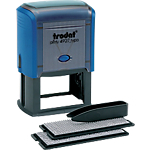 Tampon à personnaliser Trodat Printy Typomatic 4927T Texte 7 Lignes 40 mm 60 mm Noir