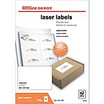 Étiquettes Office Depot Special format Blanc 99,1 x 67,7 mm 100 Feuilles de 8 Étiquettes