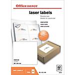 Étiquettes Office Depot Blanc 99,1 x 93,1 mm 100 Feuilles de 6 Étiquettes