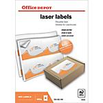 Étiquettes Office Depot Laser Special format Blanc 139 x 99,1 mm 100 Feuilles de 4 Étiquettes