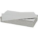 Essuie mains NICEDAY PROFESSIONAL 2 épaisseurs Pliage en V Blanc   15 Unités de 214 Feuilles