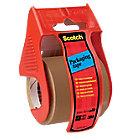 Mini ruban adhésif d'emballage sur dévidoir Scotch C5020D 50 mm x 20 m Marron
