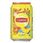 Thé glacé Lipton Pêche Canette   24 Unités de 330 ml