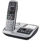 Téléphone Fixe Gigaset E560A Sans fil Avec répondeur Argenté