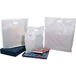 Sacs Plastique 500 (H) x 500 (l) mm 50 microns Blanc   100 Unités