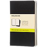 Carnet pages blanches Moleskine 9 x 14 cm QP313   3 Unités