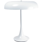 Lampe de bureau Fluorescent Aluminor Madison Blanc