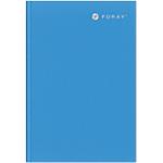 Carnet ligné Foray Bleu A5 Sans perforation 160 Pages   80 Feuilles