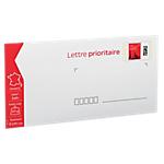 Enveloppes Prêt à Poster La Poste Lettre prioritaire 20g 22 x 11 cm   100 Unités