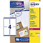 Étiquettes d'adresses AVERY Zweckform L7169 100 A4 Blanc 139 x 99,1 mm 100 Feuilles de 4 Étiquettes