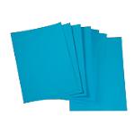 Couvertures ELAMI A4 Grain cuir Bleu   250 Unités