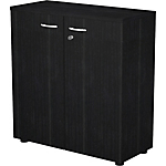 Armoire basse Easy Select 800 x 350 x 720 mm Noir
