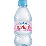 Eau minérale Naturelle Non aromatisé Evian 33   24 Bouteilles de 330 ml