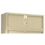 Module d'extension pour armoire GC0412 Acier, polypropylène 1200 x 430 x 440 mm Beige