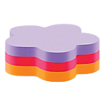 Notes adhésives Post it 70 x 70 mm 3 couleurs   225 Feuilles