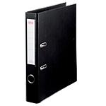 Classeur à levier Office Depot Plasticolor 50 mm Carton 2 Anneaux A4 Noir