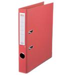 Classeur à levier Office Depot Plasticolor 50 mm Polypropylène 2 anneaux A4 Rouge
