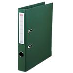 Classeur à levier Office Depot Plasticolor 50 mm Polypropylène 2 anneaux A4 Vert