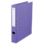 Classeur à levier Office Depot Plasticolor 50 mm Carton 2 Anneaux A4 Violet