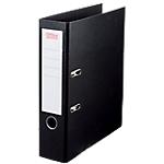 Classeur à levier Office Depot Plasticolor 80 mm Carton 2 anneaux A4 Noir