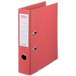 Classeur à levier Office Depot Plasticolor 80 mm Polypropylène 2 anneaux A4 Rouge