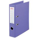Classeur à levier Office Depot Plasticolor 80 mm Polypropylène 2 anneaux A4 Violet